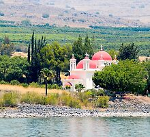Israel, Galilee, Capernaum, the Greek Orthodox Church by PhotoStock-Isra