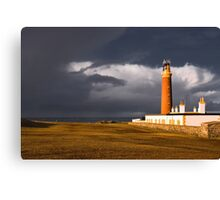 Storm at the Butt of Lewis Canvas Print
