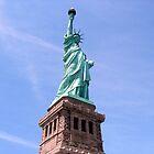 Statue of Liberty - Side View        by Wanda  Mascari