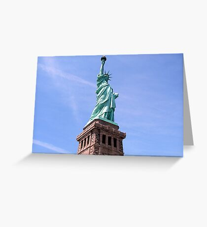 Statue of Liberty - Side View        Greeting Card