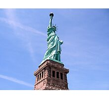 Statue of Liberty - Side View        Photographic Print