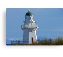 Waipapa Point Lighthouse - The Eyes of the Sea!  - Catlins - New Zealand Canvas Print