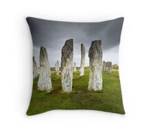 Callanish Storm Throw Pillow