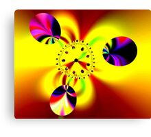 Time in Fractal Universe Canvas Print