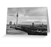 Toits de Berlin Greeting Card