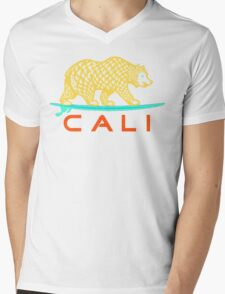 CALI Mens V-Neck T-Shirt
