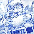 Hip Hop Santa! by Mike Cressy
