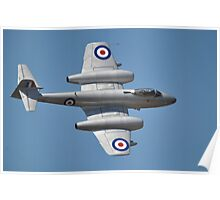 Meteor Flypast, Point Cook Airshow, Australia 2014 Poster