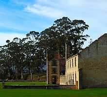 Gone But Not Forgotten- Port Arthur Historic Site, Tasmania Australia by Philip Johnson