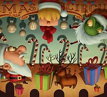 Xmas Circus by Mike Cressy