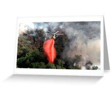 malibu helicopter #3 Greeting Card