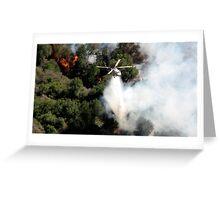 malibu helicopter #4 Greeting Card