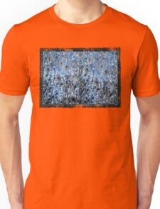 marbled paper - ink blue sea Unisex T-Shirt