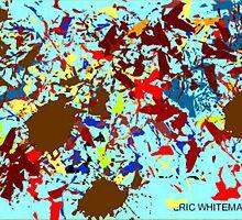 (A RIDE INTO SOMEWHERE) ERIC WHITEMAN  ART  by eric  whiteman