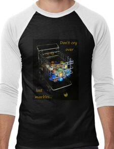 Don't cry over lost marbles... Men's Baseball ¾ T-Shirt