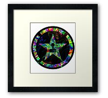 Psychedelic Achievement Hunter Framed Print