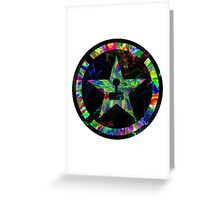Psychedelic Achievement Hunter Greeting Card