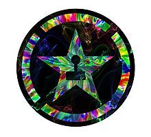 Psychedelic Achievement Hunter Photographic Print