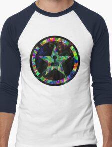 Psychedelic Achievement Hunter Men's Baseball ¾ T-Shirt