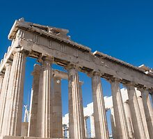 The Parthenon, Acropolis, Athens, Greece, UNESCO word heritage site  by PhotoStock-Isra