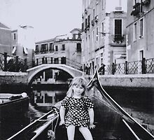 Little Girl in Venice by Maria White