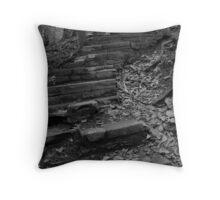 Winding stone stairs Throw Pillow
