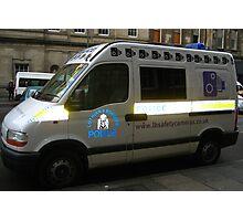 Police car, Edinburgh Photographic Print