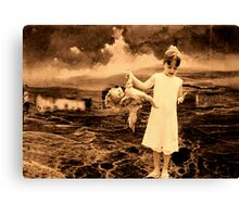 Irreparable dream machine.. Canvas Print