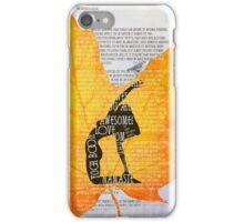 The Law of Karma. Yoga Book iPhone Case/Skin