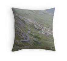 Road To Healy Pass Throw Pillow