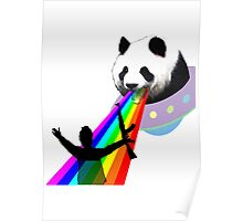 Panda stop gunner Poster