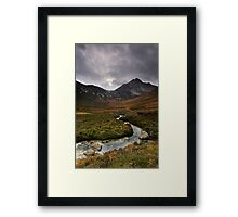 Glen Sannox Framed Print