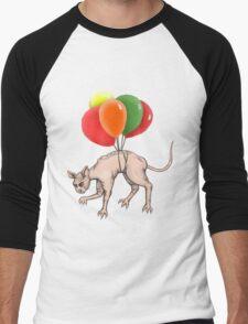 Flying Cat Men's Baseball ¾ T-Shirt