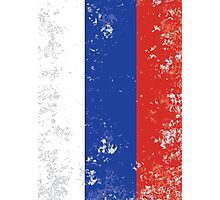 Flag of Russia Photographic Print