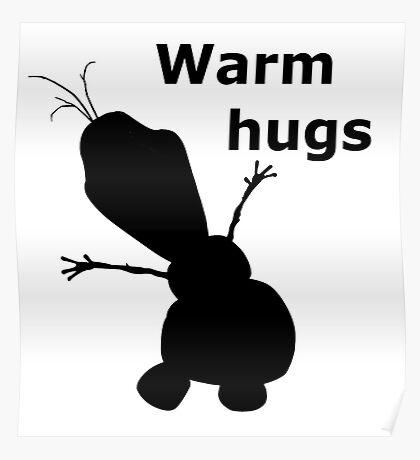 Warm Hugs Poster