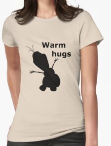 Warm Hugs Womens Fitted T-Shirt