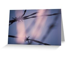 Barbed Garden Greeting Card