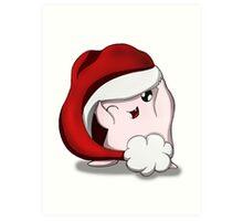Adipose Christmas Art Print