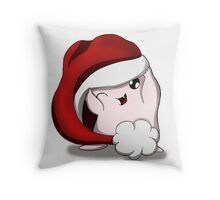 Adipose Christmas Throw Pillow