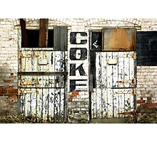 Coke sign, the old Abbottsford Convent  Photographic Print