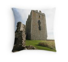 Threave Castle Throw Pillow