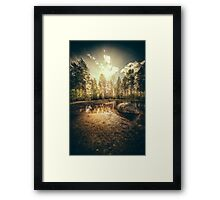 Sonne II Framed Print