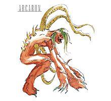 Arcaron: Scarmiglione, terrain emperor Photographic Print