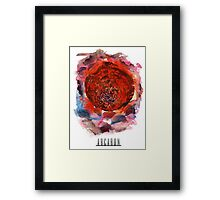 Arcaron: red moon unleashed Framed Print