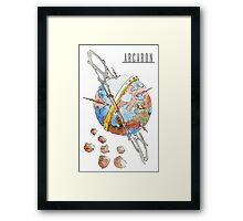 Arcaron: Occurea Framed Print