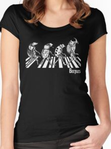 BEETLES Women's Fitted Scoop T-Shirt