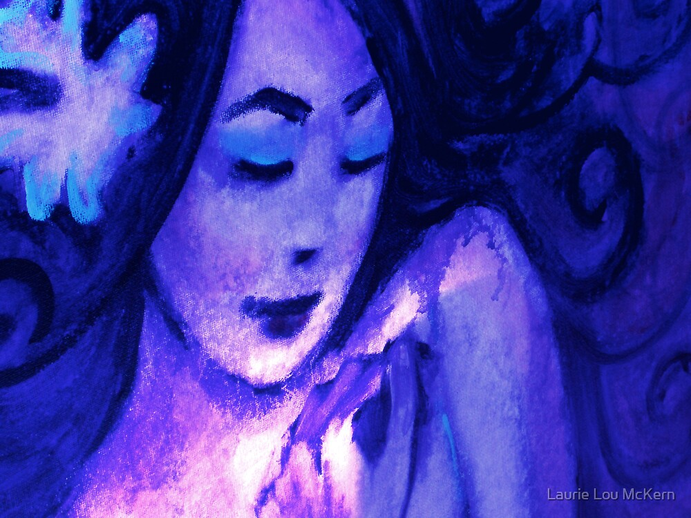 Blue Girl by Laurie Lou McKern
