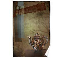 Warrior Teapot Poster
