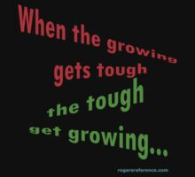 Growing tough... by QuoteKing