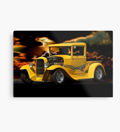 1930 Ford Pickup Truck Metal Print